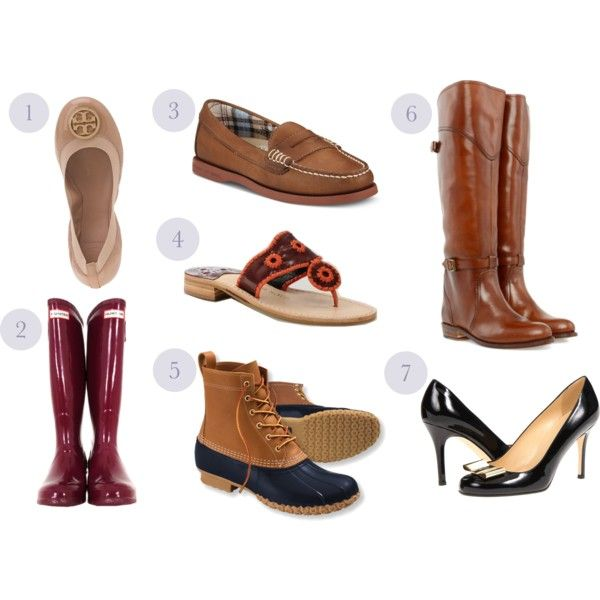 """College Shoe Wishlist"" by theblacksburgbelle on Polyvore"