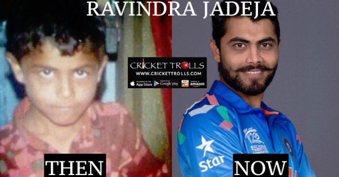 #WT20 #RavindraJadeja #T20WorldCup #WarmupMatch #T20I  Ravindra Jadeja : Then and now  http://www.crickettrolls.com/2016/03/05/ravindra-jadeja-then-and-now/