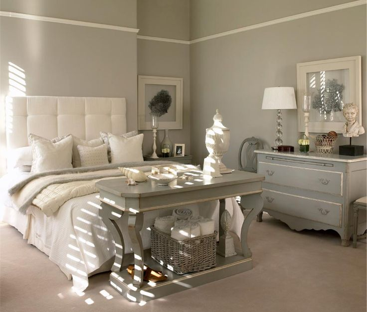 Durma bem gray dresser white trim and dresser Master bedroom with grey furniture