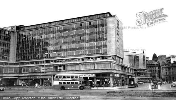 Bradford, Forster Square c.1965, from Francis Frith