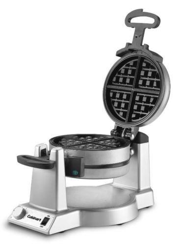 Waring-Pro-Double-Belgian-Waffle-Maker-Iron-Gourmet-Baker-Breakfast-Commercial