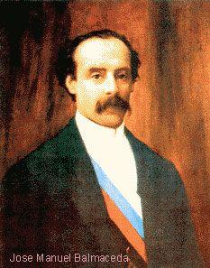 José Manuel Balmaceda Fernández, Undécimo Presidente de Chile 1886 - 1891