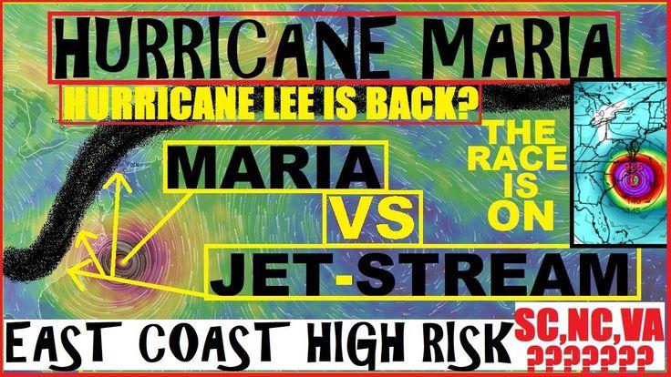 Hurricane MARIA Update! SOUTH Carolina NORTH Carolina VIRGINIA Must Be A...