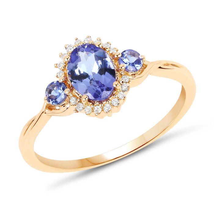 Tanzanite 14kt gouden ring met diamanten. Ring van grootte: 53 / 169 mm / U.S. 6 / Frankrijk 13 / Engeland M. Geen minimumverkoopprijs  Exclusieve item van sieraden met tanzanites en diamantenEdele metalen: 14kt goud / 585 geel goudEdele metalen gewicht: 217 gEdelsteen / main stone: TanzaniteKant stenen: diamantenAantal edelstenen: 3 tanzanites en 18 diamantenGrootte van edelstenen: grote tanzanite = 7 x 5mm kleine tanzanites = 250 mm diamanten = 10 mmCut: Grote tanzanite = ovaal kleine…