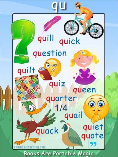 7 letter words starting with qu 17 best images about beginning sounds phonics posters on 25106 | 2d5a87eebc8a8c2ee1f6d7d63b3fa165