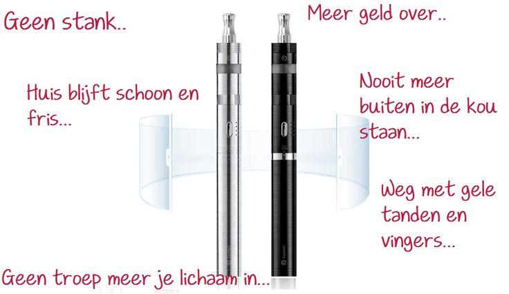 Mijn ervaring met een E-sigaret