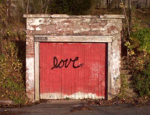 the love shack near the university of kansas -- a popular spot for photo shoots