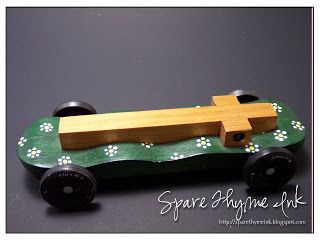 Spare Thyme Ink: AWANA Grand Prix Cars