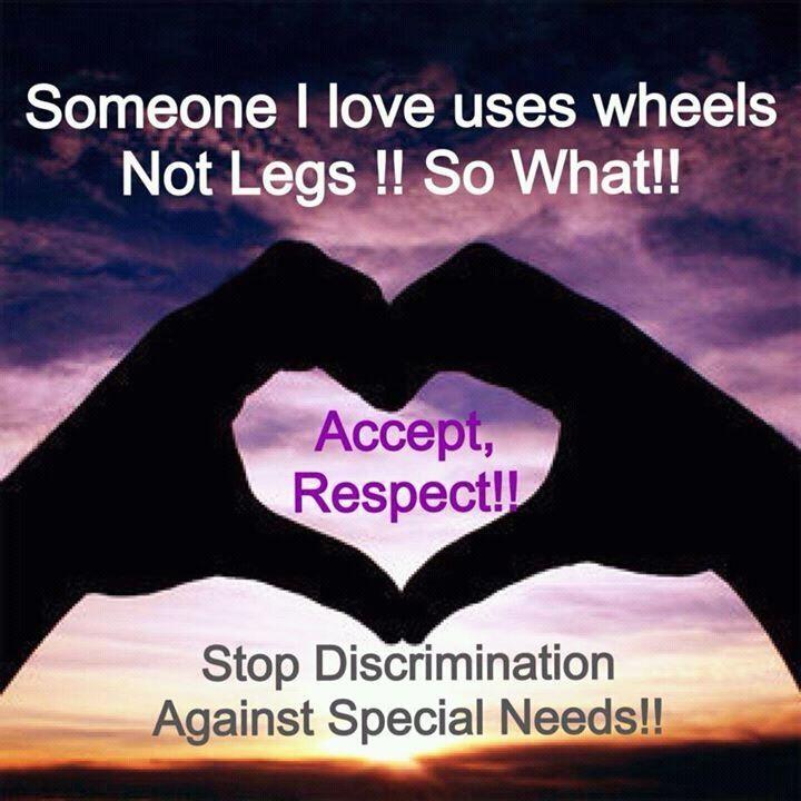 Inspirational Quotes Motivation: Disability Awareness Quotes. QuotesGram
