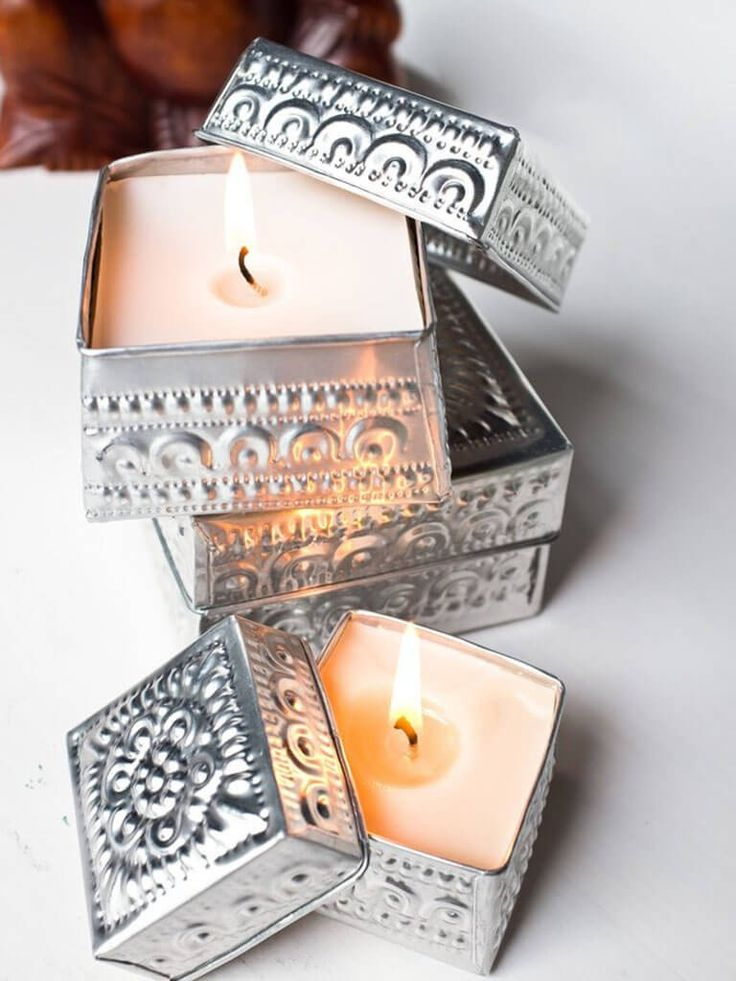 Traditional Offering Candle - Mini Sandalwood