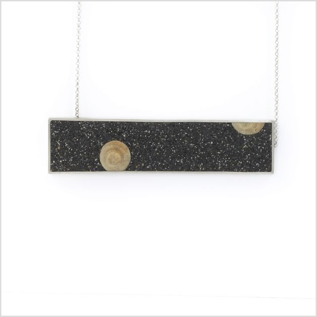 Long necklace from SAND collection,