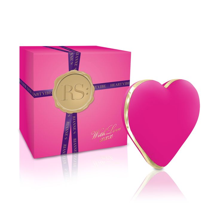 The Rianne S Heart Vibe makes the perfect gift for lovers this Valentines Day!