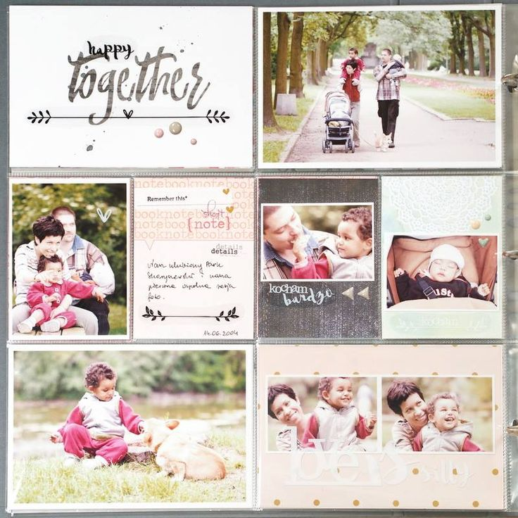 Pocket scrapbooking | Agnieszka D | Family Portraits