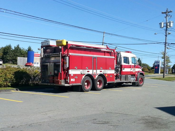 Halifax Regional Municipality fire department tanker at Cow Bay, October 4th, 2016.  #HalifaxAuthor #Halifax #firefighter #halifaxregionalfiredepartment #firetruck #novascotia