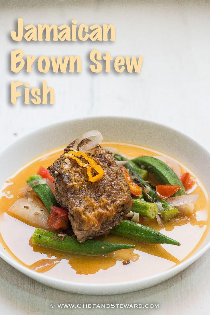 Jamaican Brown Stew Fish for Healthy Ramadan Recipe -8