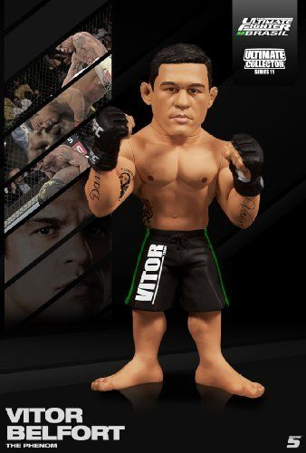 "Vitor Belfort (TUF Brazil Edition) Round 5 UFC Ultimate Collector Series 11 by Round 5. $13.53. The Ultimate Fighter Brasil Coach. Released: November 2012. Ages 5 and up. Vitor ""The Phenom"" Belfort in his signature pose. The Ultimate Fighter Brasil CoachVitor ""The Phenom"" Belfort in his signature poseReleased: November 2012Ages 4 and up"