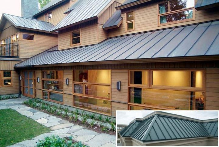 Popular Metal Building Plans And Kits Residential Metal Roofing Roof Cost Metal Roof Houses