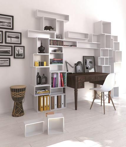 51 besten regale Bilder auf Pinterest Arbeitszimmer, Büchereien - designer mobel bucherregal