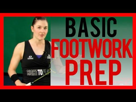 Badminton Footwork Lesson 02 - Forehand Footwork Basic Prep - YouTube