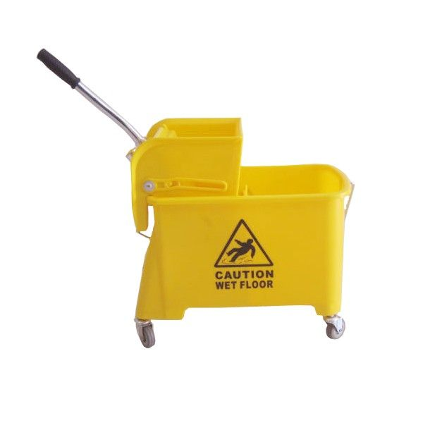 Single Bucket Small 20 L - Yellow.  - Type:302KL-20KN - Capasitas :20 L - Wringer:Side Press - Color:Yellow - product size :40X27X45cm - Harga per Unit.  http://alatcleaning123.com/ember/1678-single-bucket-small-20-l-yellow.html  #ember #bucket #alatcleaning