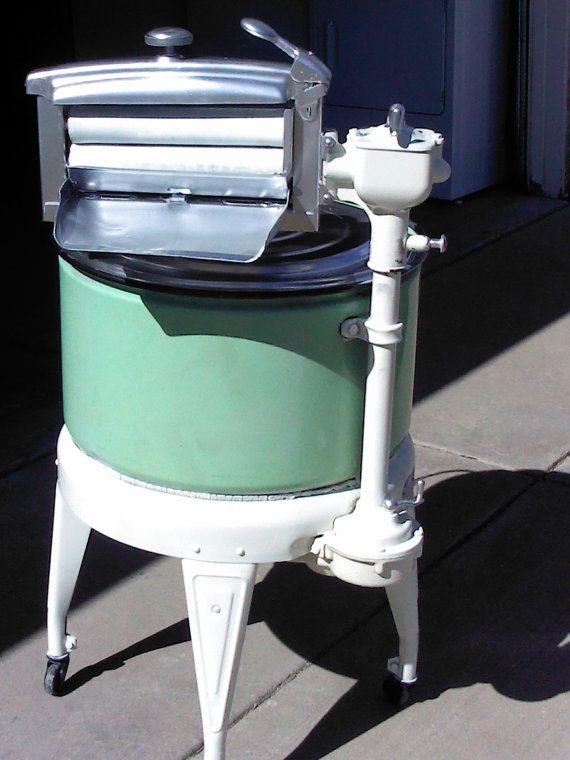 Electric Washing Machine ~ Littleslicesoflife antique thor electric washing