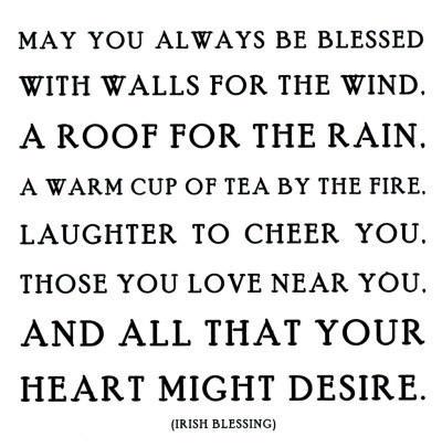 Irish Blessing  ♥