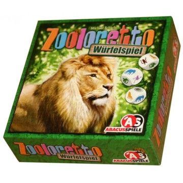 Zooloretto kockajáték - családi társasjáték 7 éves kortól - Abacusspiele