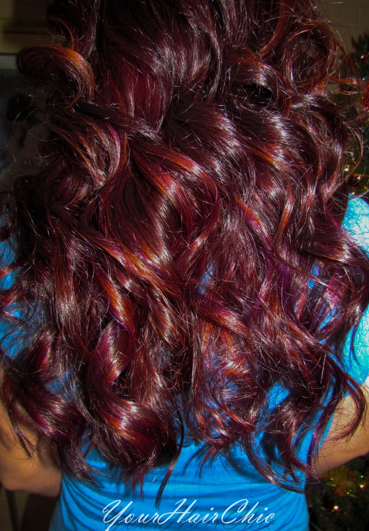 17 Best Images About Hair Color On Pinterest  Burgundy Red Hair Ombre And V