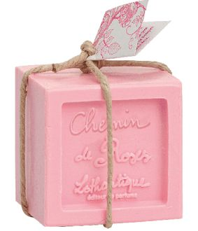 Savon cube 300 g 300 g - Chemin de roses