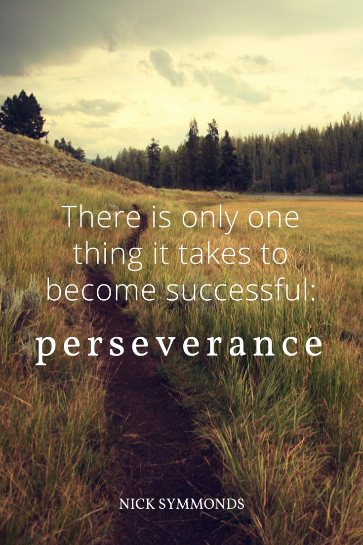 an analysis of the importance of perseverance in success Analysis latest analysis  the importance of persistence and perseverance to your trading success  it is for this reason that persistence and perseverance are crucial to your ability to not .