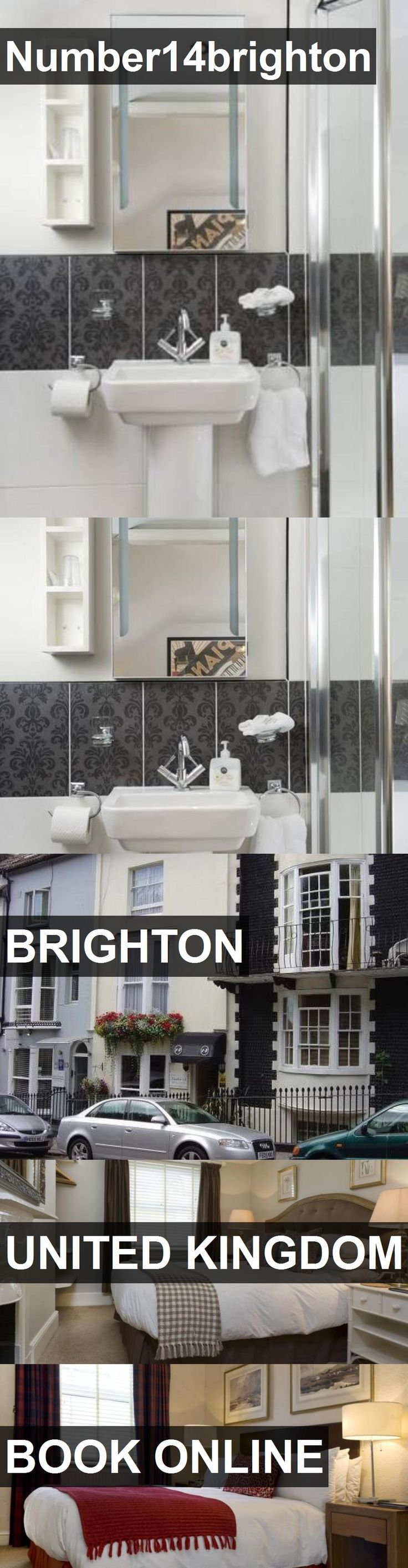 Hotel Number14brighton in Brighton, United Kingdom. For more information, photos, reviews and best prices please follow the link. #UnitedKingdom #Brighton #Number14brighton #hotel #travel #vacation