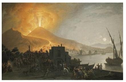 Pietro Fabris, Vesuvius [no other info]