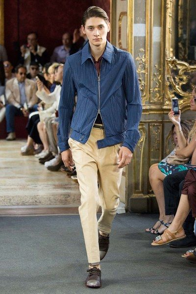 Corneliani Spring 2016 Menswear Collection - Vogue #menswear #runway #spring2016 #spring #2016 #fashion #style #trends #trendy #trend2016
