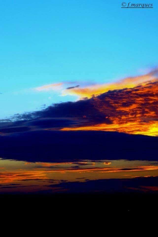 Cores de um céu