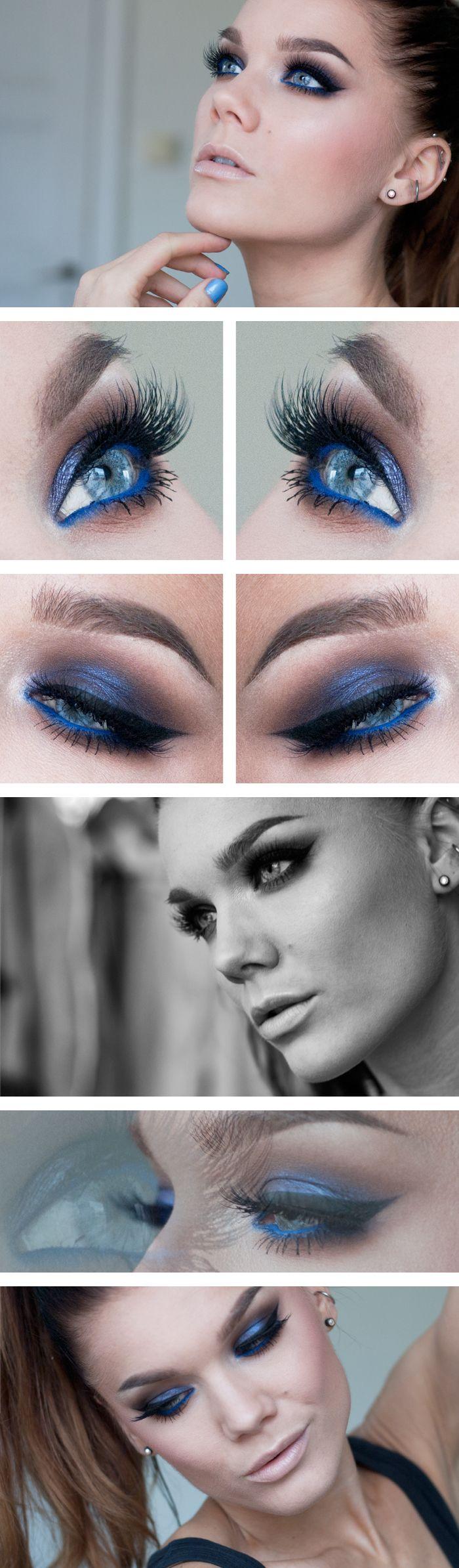 Mar, verano, color. Mayo 2015 #blue #azul #manicura #maquillaje #manicure #makeup #TinaJimenez #Mallorca #CentrodeEstetica