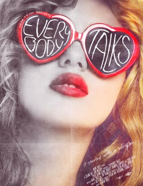 Neon Trees Album Cover: Album Covers, Music, Neon Trees, Red, Everybody Talk, Favorite Songs, Everybodytalk, Songs Hye-Kyo, Sunglasses