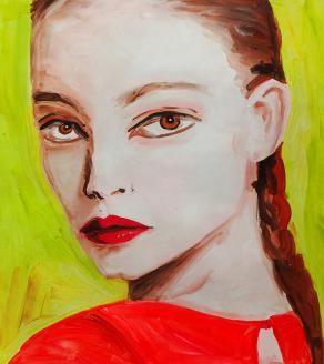 Eyeliner beetje boven het oog..rode/roze lipstick vind ik kunnen, 1 WB donker, 1 licht