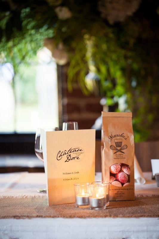 Chateau Dore Menus @ Chateau Dore Winery