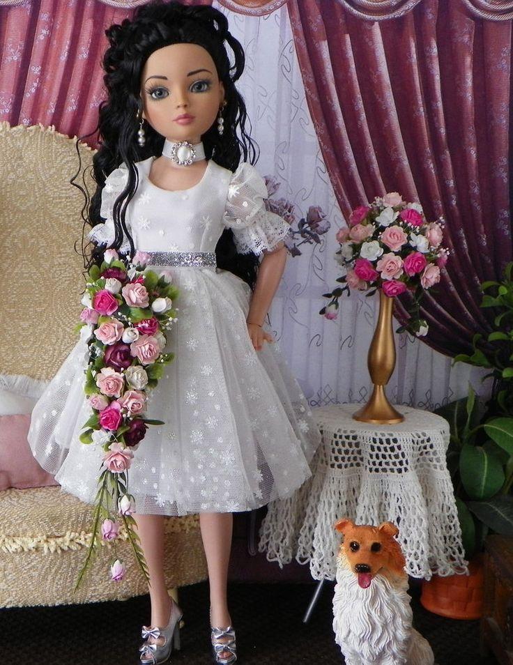 Tonner,Tyler Sydney Ellowyne PINK Casscading Bouquet