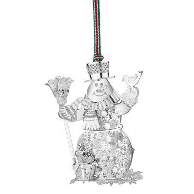 A happy snowman hoping for a White Christmas!! <3 Available at www.standun.com
