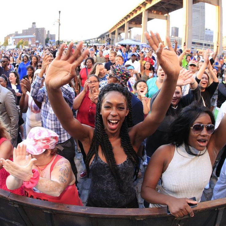 On our 100 Things list: Catch a concert at Canalside