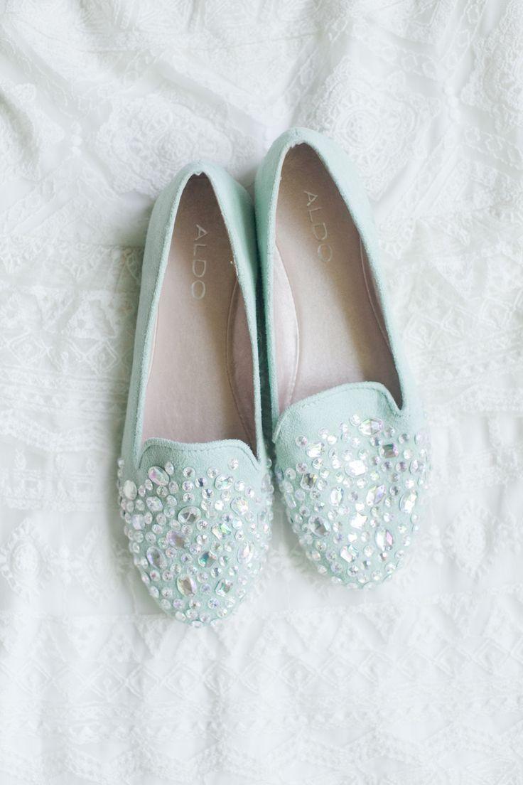 Aldo mint loafers #jewels #Shoes Photography: Jordan Brittley - jordanbrittley.com  Read More: http://stylemepretty.com/2013/10/14/missouri-backyard-wedding-from-jordan-brittley/