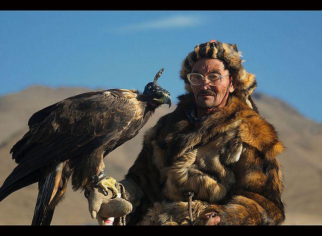 Mongolian wolf hunter