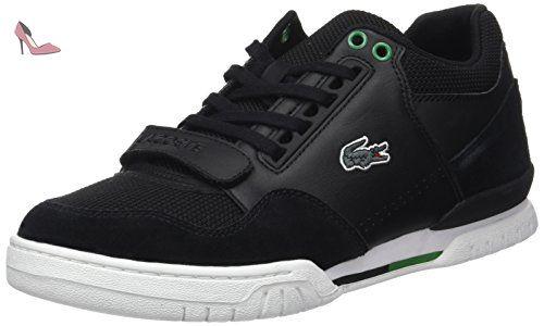 Lacoste Sport Missouri G 117 2, Basses Homme, Multicolore (Noir/Noir), 40 EU - Chaussures lacoste (*Partner-Link)
