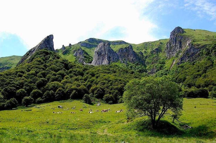 Vallée de Chaudefour tout près de Chambon-sur-Lac