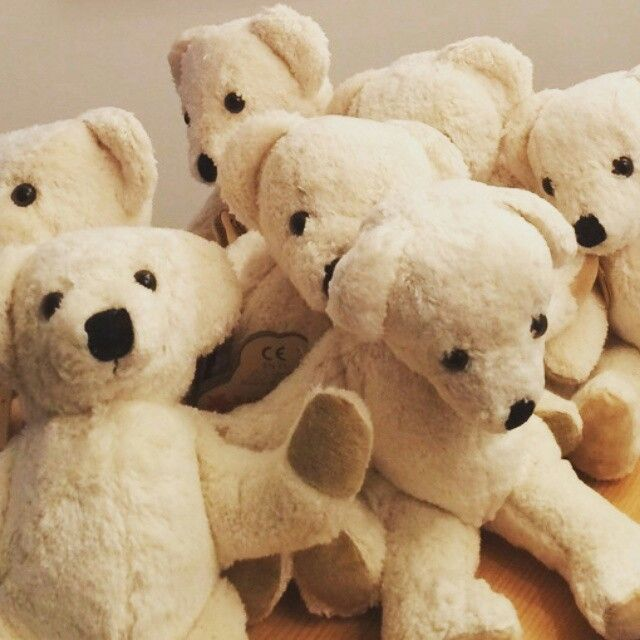 Natural kallisto teddy bears from germany