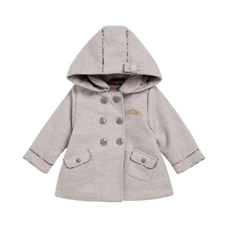 Manteau gris de Marque Sergent Major, Vêtements BÉBÉ FILLE - Livraison et retour gratuits ✅ Satisfait ou remboursé pendant 30 j ✅