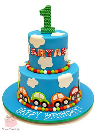 Image result for car themed birthday cake
