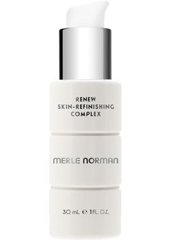 Merle Norman Renew Skin Refinishing Complex  For all skin types.   Uncover your most beautiful complexion with this gentle, silky treatment lotion. Non-acid ingredients enhance skin's natural exfoliation process to help give skin an even tone while relieving flakiness and roughness. It revitalizes the appearance of skin and helps pores appear less obvious. Ophthalmologist tested. Oil-free. Non-comedogenic.: Brown Spots, Anti-Ag Serum, Improvement Skin, Brightening Serum, Beautiful Complexion, Enhancer Skin, Merle Girls, Eye, Dead Skin