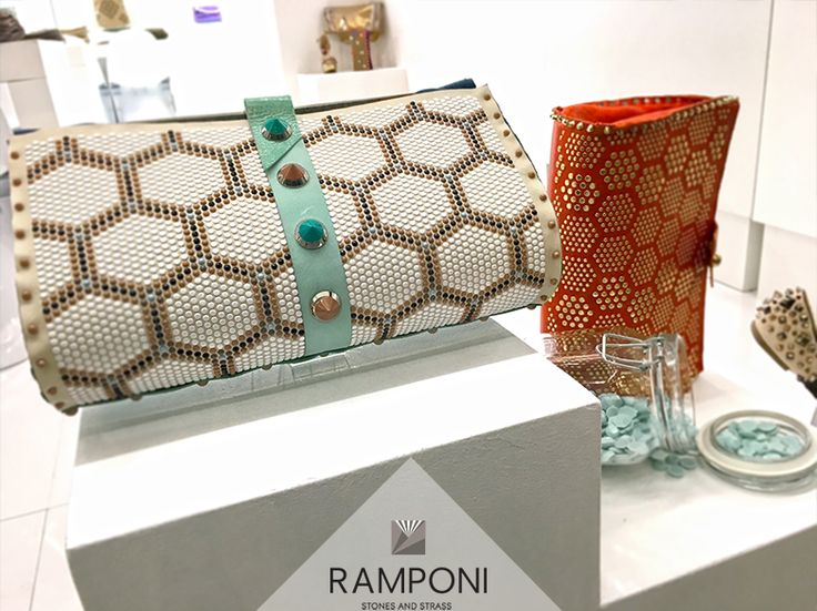 beautiful clutches #ramponi #studs #milanounica